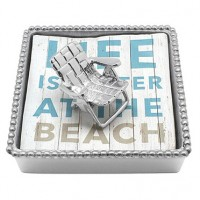 Mariposa Beach Chair Napkin Box