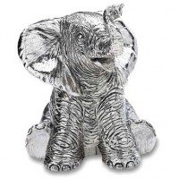 Reed and Barton Baby Elephant Music Box