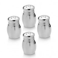 Empire Pewter Large Salt & Pepper Set - Set of 4