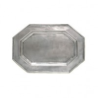 Match Pewter Octagonal Tray for Tureen