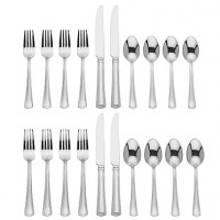 Reed & Barton Percy 20-Piece Stainless Flatware Set