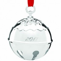 Reed & Barton 2017 Holly Bell Ornament - SOLD OUT