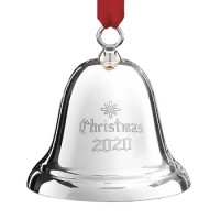 Reed and Barton 2020 Sterling Silver Bell Ornament - 36th Edition
