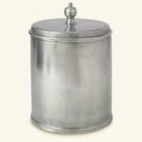 Match Pewter Lidded Canister - Large