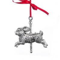 Arthur Court Annual Bunny Ornament - 2014 Carousel