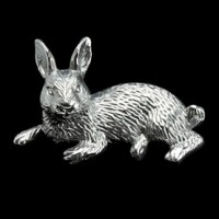 Arthur Court Rabbit Napkin Weight