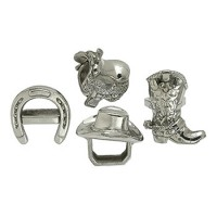 Arthur Court Western Napkin Rings- Set of 4