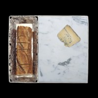 Arthur Court Grape Marble Bread & Cheese Set