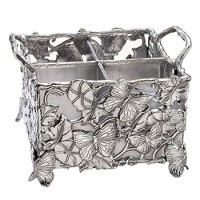 Arthur Court Butterfly Flatware Caddy