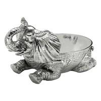 """Arthur Court Elephant Figural Bowl - 12"""""""