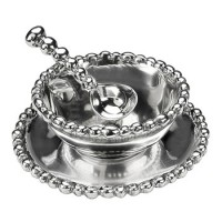 Arthur Court Jewel 3-Piece Condiment Set