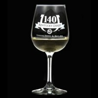 Arthur Court Kentucky Derby Churchill Downs 140th Wine Glass