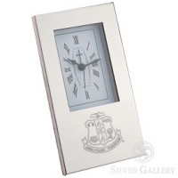 AKA Silhouette Alarm Clock - Silverplate