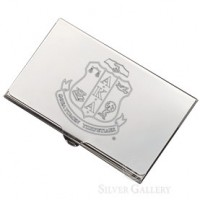 AKA Business Card Case - Nickelplated