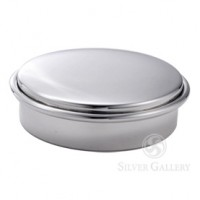 Boardman Sterling Silver Round Ring Box