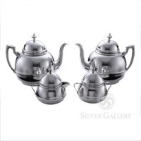 Boardman Georgian Pewter Coffee Service - Four Piece