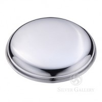 Boardman Round Pewter Paperweight - 4""