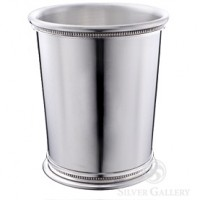 Boardman Governor's Pewter Beaded Mint Julep Cup