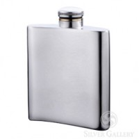 Boardman Pewter Flask - 4.5""
