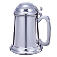 Boardman Metal Bottom Covered Tankard