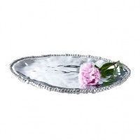 Beatriz Ball Organic Pearl Triangle Platter - Large