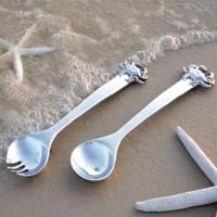 Beatriz Ball Ocean Chesapeake Crab Salad Servers