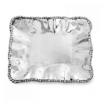 Beatriz Ball Organic Pearl Rectangular Tray - Medium