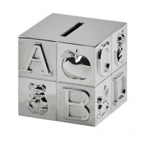 Alphabet Block Baby Bank - Ships March 2020