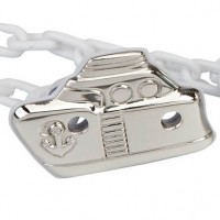 Cunill Sterling Silver Sailor Pacifier Clip