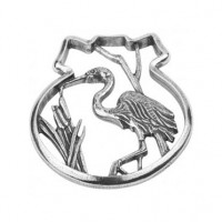 Salisbury Pewter Blue Heron Ornament