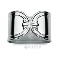 Cunill Sterling Silver London Napkin Rings - Set of 2
