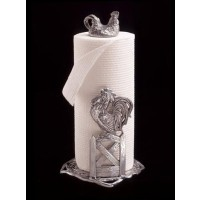 Arthur Court Rooster Paper Towel Holder