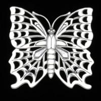 Arthur Court Butterfly Trivet