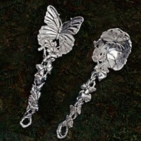 Arthur Court Butterfly Serving Set