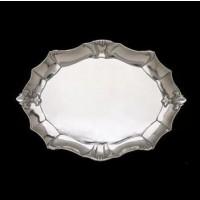 Fleur-De-Lis Oval Platter