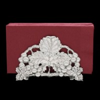 Arthur Court Grape Napkin Holder - 6