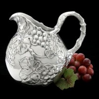 Arthur Court Grape Small Pitcher