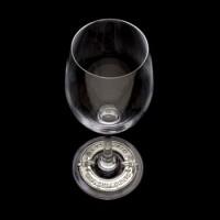 Arthur Court Kentucky Derby Wreath Wine Glass
