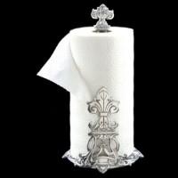 Arthur Court Fleur de Lis Paper Towel Holder