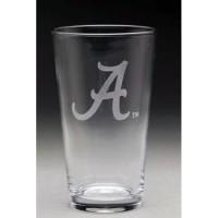 University of Alabama Pub Glass