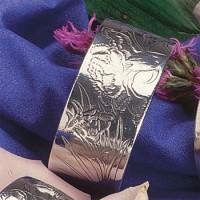 Carnation Cuff Bracelet-January