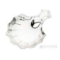 Cunill Sterling Silver Waves Baptismal Shell