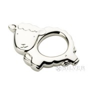 Cunill Sterling Silver Little Lamb Rattle