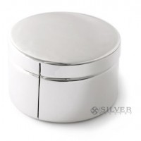 Sterling Silver Plain Stamp Dispenser