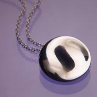 Sterling Silver Feng Shui Necklace - Yin/Yang