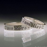 Ring -My Beloved is Mine & I Am Hers