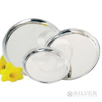 Empire Sterling Silver Round Presentation Trays