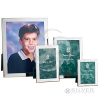 Empire Sterling Silver Plain Frame