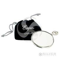 Empire Sterling Silver Purse Mirror