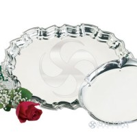 Empire Pewter Chippendale Tray